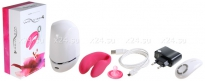 Вибромассажер для пар We-Vibe-4 на радиоуправлении (розовый)