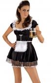 Бархатное платье баварской официантки M