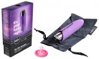 Небольшой вибратор со съемной силиконовой насадкой Nyx Mini Massager (5 режимов)