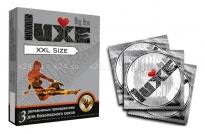 Презервативы Luxe увеличенного размера XXL size (3 шт)