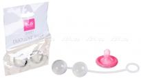 Стеклянные шарики в силиконовой оболочке Sweet Duo Love Balls