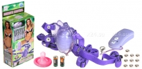 Клиторальный стимулятор на дистанционном управлении Venus Butterfly (7 режимов)