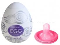 Супер эластичный мастурбатор в виде яйца CLOUDY