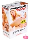 Куколка Allie McSqueal с реалистичной вагиной и анусом (с вибрацией)