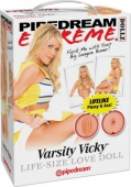 Куколка для любви с реалистичной вагиной и анусом Varsity Vicky