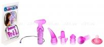 Мини-массажер с насадками Orgasmic Tool Kit