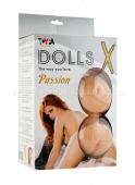 Большегрудая брюнетка с реалистичной вагиной Dolls X (3 отверстия)