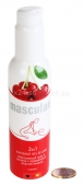 Массажный гель и смазка с ароматом вишни Masculan 2 в 1