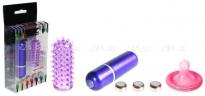 Мини-вибратор с насадкой EZ (3 скорости)