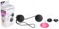 Тяжелые черные шарики со смещенным центром тяжести Vibro Balls
