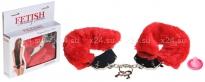 Металлические наручники с мехом Original Furry Cuffs