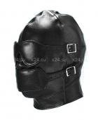 Шлем глухой на шнуровке с кляпом и отстегивающимися элементами