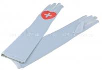 Длинные перчатки медсестры