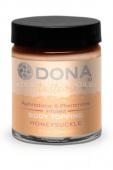 Съедобная карамель для тела и оральных ласк DONA Body Topping Honey Suckle