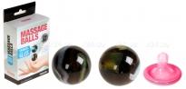 Небольшие стеклянные вагинальные шарики Massage Balls