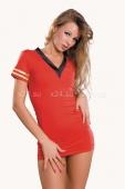 Красный костюм стюардессы