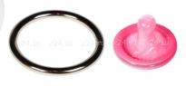 Стальное эрекционное кольцо Steel Cock Ring 2''