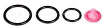 Три эрекционных кольца Silicone 3-Ring Stamina Set