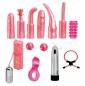 Розовый универсальный секс-набор для пар DIRTY DOZEN