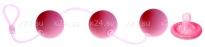 Анальные шарики со смещенным центром тяжести Love Balls