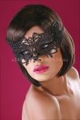 Чёрная ажурная маска Mask Black Model 13
