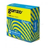 Презервативы GANZO NEW CLASSIC No3 Классические с силиконовой смазкой