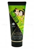 Съедобный массажный крем для тела Massage Cream (груша и зеленый чай)