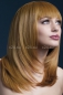 "Рыжий парик с чёлкой ""Tanja"""