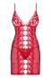 Красная эротичная сорочка со стрингами Bride Chemise LXL