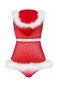 Новогодний пеньюар с капюшоном Santacutie Peignoir LXL
