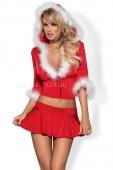 Комплект новогодний топ Santa Lady Skirty Set LXL