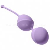 Большие шарики в силиконовой оболочке Violet Fantasy