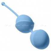 Большие шарики в силиконовой оболочке Sky Blue