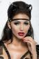Чёрная маска с ушками из стреп лент Me Seduce MK 06 SL