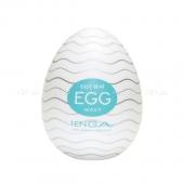 Супер эластичный мастурбатор в виде яйца Wavy