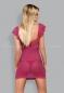 Розовая сорочка с кружевом Lillove Chemise XXL