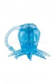 Вибро-осьминожка White Label Octopus (1 режим вибрации) голубой