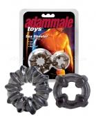 Комплект из 2 эрекционных колец Adam Male Toys Sex Shooter Cock Rings