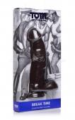 Большой изогнутый фаллос Tom of Finland с рельефом на мощной присоске Break Time