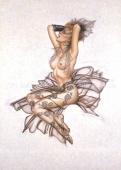 """Подарочный набор белья """"Страсть и кружево"""" Olivia by Shirley"""