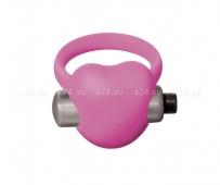 Эрекционное кольцо с вибрацией HeartBeat