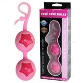 Силиконовые шарики со смещенным центром тяжести Cute Love Balls