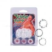 Комплект из трех силиконовых колец Triple Treat Passion Rings
