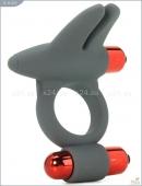 Эрекционное вибро-кольцо с двойной вибрацией из серии MAIA MAN ADAM (7 режимов)