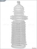 Насадка стимулирующая прозрачная с мелкими пупырышками