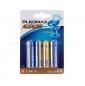 Комплект из 4 батареек Pleomax Alkaline (тип AA)