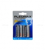 Комплект из 4 батареек Pleomax Super Heavy Duty (тип AA)