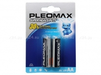 Комплект из 2 батареек Pleomax Super Heavy Duty (тип AA)