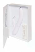 Перезаряжаемый вибратор Love story White Rabbit в подарочной упаковке (7 режимов вибрации)