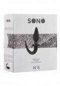 Анальная пробка с изогнутым собачьим хвостиком Sono 8